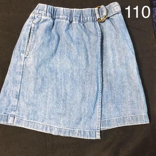 petit main - 女児春夏秋スカート 110