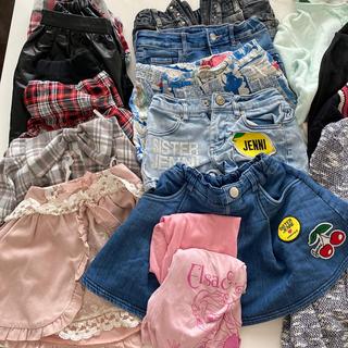 ジェニィ(JENNI)の女の子 まとめ売り 子供服 セット 140 130 150 福袋 ブランド  (Tシャツ/カットソー)