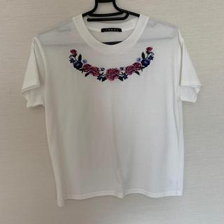 イング(INGNI)の白Tシャツ(Tシャツ/カットソー(半袖/袖なし))