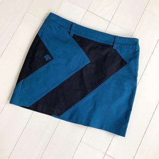 DESCENTE - DESCENTE GOLF デサントゴルフ レディース スカート Mサイズ 美品