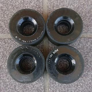 【値下げ】スケボー ソフトウィール softwheel 56mm 78a(スケートボード)