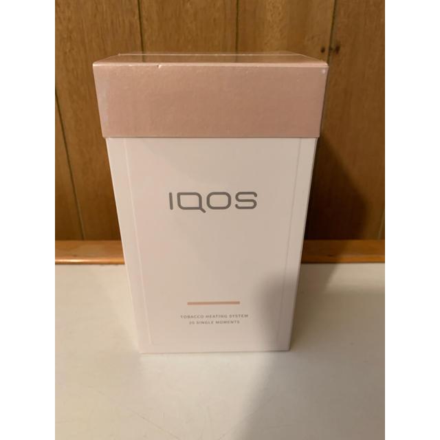 IQOS(アイコス)のIQOS3 ブリリアントゴールド 新品未開封 アイコス 本体 キット メンズのファッション小物(タバコグッズ)の商品写真