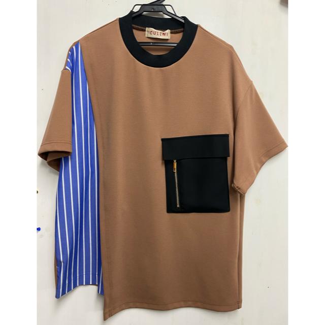 STUDIOUS(ステュディオス)の2020 S/S CULLNI クルニ デザインカットソー メンズのトップス(Tシャツ/カットソー(半袖/袖なし))の商品写真