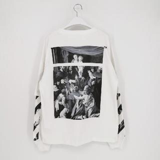 OFF-WHITE - OFF-WHITE オフホワイト 男女兼用 長袖Tシャツ 春夏