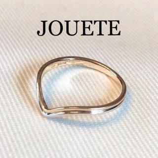 【ジュエッテ】JOUETE*K10*4号*ピンキー*V字リング(リング(指輪))