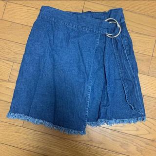 ナイスクラップ(NICE CLAUP)のデニムスカート(ミニスカート)