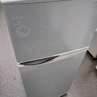 Z42887 シャープ冷蔵庫トップフリーザー118L シルバーSJ-H12W-S(冷蔵庫)