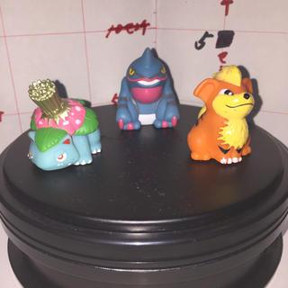 ポケモン - ポケモンキッズ 指人形 フィギュア 任天堂 3個セット