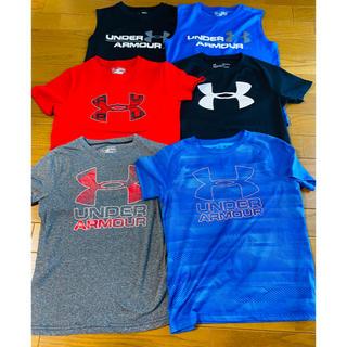 アンダーアーマー(UNDER ARMOUR)のJr.アンダーアーマーTシャツ 6枚セット(Tシャツ/カットソー)