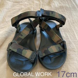 グローバルワーク(GLOBAL WORK)のGLOBAL WORK 17cm サンダル(サンダル)