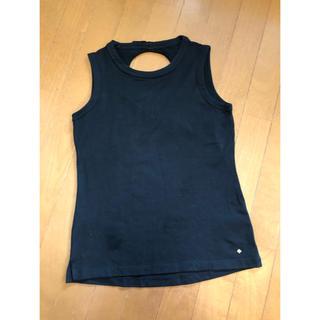 ケイトスペードニューヨーク(kate spade new york)のケイトスペード  黒タンクトップ(Tシャツ(半袖/袖なし))