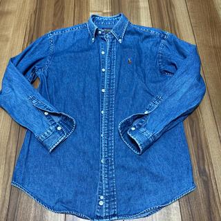 ラルフローレン(Ralph Lauren)のラルフローレン デニムシャツ 160cm(ジャケット/上着)