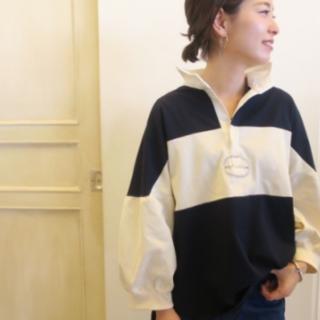 L'Appartement DEUXIEME CLASSE - 希少!DeuxiemeClasseラガーシャツ アメリカーナ
