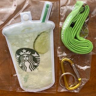 スターバックスコーヒー(Starbucks Coffee)の《スターバックス》未使用&レアな非売品!パスケース(ノベルティグッズ)