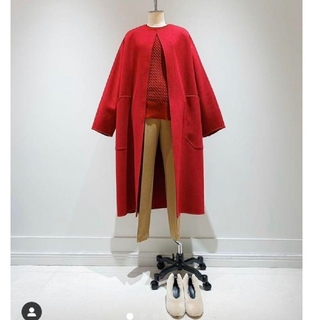 Drawer - cyclas ウールカシミヤ ロングコート