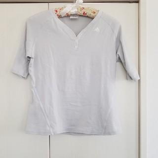 アディダス(adidas)のadidas Tシャツ 五分丈(ヨガ)