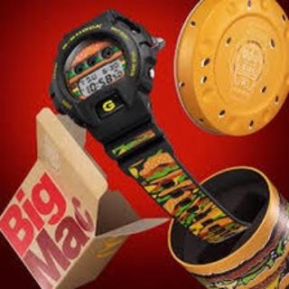 ジーショック(G-SHOCK)の【新品未使用】【レア】マクドナルド×G-SHOCKコラボレーションモデル(腕時計(デジタル))