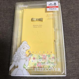 ディズニー(Disney)の美女と野獣 ベル イエロー iPhoneケース スマホケース  フラワー 花(iPhoneケース)