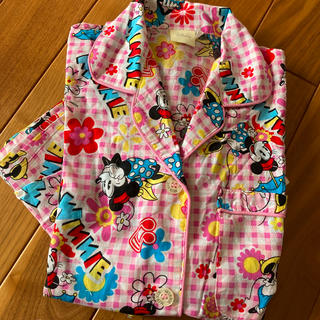 ディズニー(Disney)のミニー コットン パジャマ 160(パジャマ)
