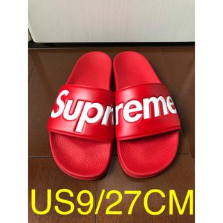 シュプリーム(Supreme)のSupreme Slide Sandals サンダル BOX シュプ ベナッシ(サンダル)