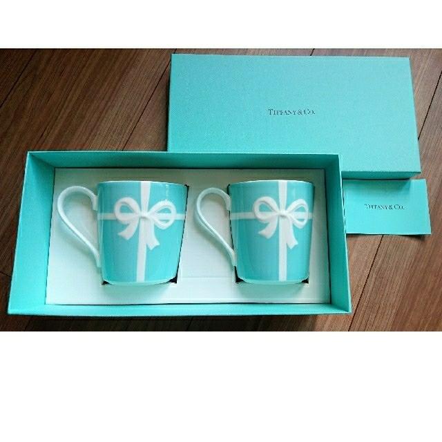 Tiffany & Co.(ティファニー)の[ティファニー] ペアマグカップ インテリア/住まい/日用品のキッチン/食器(グラス/カップ)の商品写真