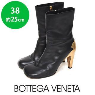 Bottega Veneta - ボッテガヴェネタ 19年AW新作 STIVALE ショートブーツ 38(約25