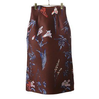 mame - mame kurogouchi マメ フラワーダブルクロススカート サイズ2