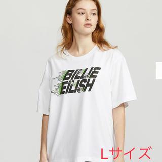 ユニクロ(UNIQLO)のビリー・アイリッシュ x 村上隆UT ロゴ(Tシャツ(半袖/袖なし))