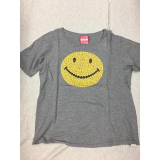 UNITED ARROWS - SMILEロゴTシャツ グレー Lサイズ