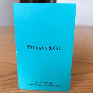 ティファニー(Tiffany & Co.)の香水 サンプル(ユニセックス)