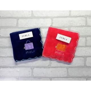 Furla - 送料無料■FURLA/フルラ■かばん柄 タオルハンカチ■2枚セット