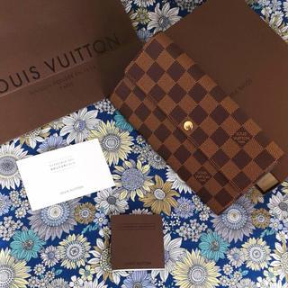 LOUIS VUITTON - Louis Vuitton ルイヴィトン 長財布 ダミエ