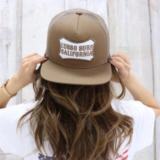 STANDARD CALIFORNIA - 夏コーデ☆LUSSO SURF ボックスロゴ刺繍キャップ☆帽子 RVCA