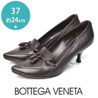 ボッテガヴェネタ(Bottega Veneta)のボッテガヴェネタ タッセル パンプス 37(約24cm)(ハイヒール/パンプス)