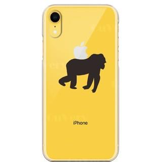 iPhoneXRワイヤレス充電対応ハード クリアケース ゴリラ(iPhoneケース)