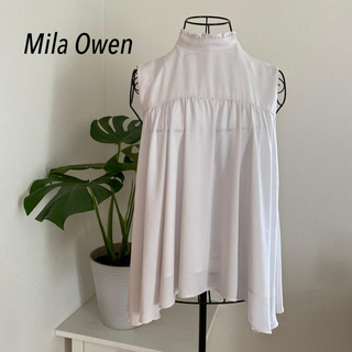 Mila Owen - Mila Owen ノースリーブブラウス