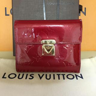 LOUIS VUITTON - ルイヴィトン ヴェルニ 折り財布 財布 長財布 確実正規品