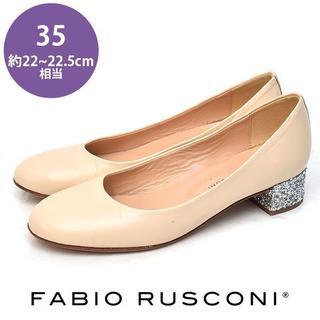 ファビオルスコーニ(FABIO RUSCONI)のファビオルスコーニ グリッターヒール パンプス 35(約22-22.5cm)(ハイヒール/パンプス)