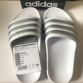 アディダス(adidas)の新品 adidas シャワーサンダル タグ•箱付(サンダル)