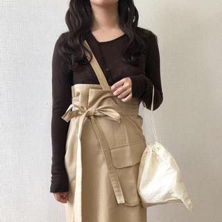 Kastane - i_am.bonny 完売ワンショルダーラップスカート