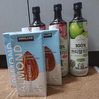 コストコ(コストコ)の美酢&アーモンドミルクセット(ソフトドリンク)