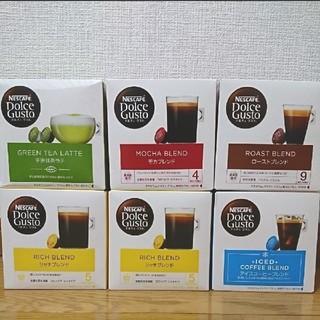 Nestle - ネスレ ネスカフェ ドルチェグスト カプセル コーヒー (計6箱)