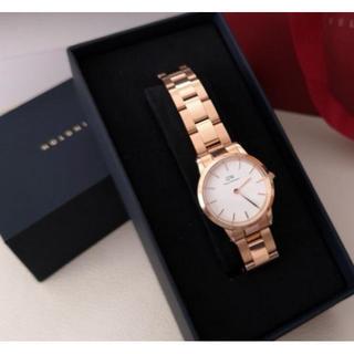ダニエルウェリントン(Daniel Wellington)の【定価2.2万円】美品★DW00100213★28mmレディース腕時計(腕時計)