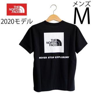 THE NORTH FACE - 新品 M ノースフェイス ショートスリーブ スクエアー ロゴ Tシャツ 黒
