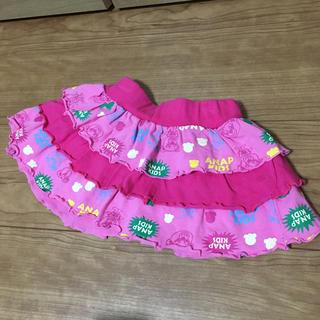 アナップキッズ(ANAP Kids)のキッズミニスカート(スカート)