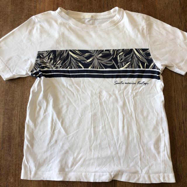 GU(ジーユー)のGU  半袖 Tシャツ2枚セット  150サイズ キッズ/ベビー/マタニティのキッズ服男の子用(90cm~)(Tシャツ/カットソー)の商品写真