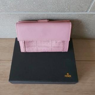 フェンディ(FENDI)の【☆レア☆】 FENDI 2つ折り財布(財布)