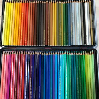 カランダッシュ(CARAN d'ACHE)のカランダッシュ スプラカラーソフト 水彩色鉛筆 80色セット(色鉛筆)