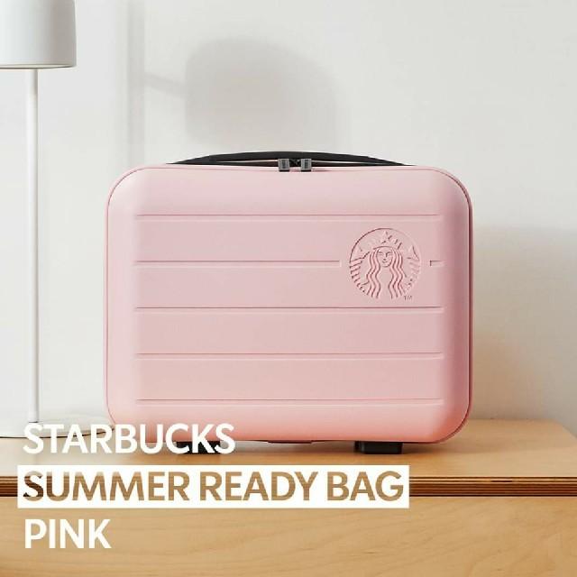 Starbucks Coffee(スターバックスコーヒー)の韓国 スタバ スターバックス サマーレディーバック ピンク ミニ バック レディースのバッグ(エコバッグ)の商品写真