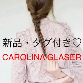 カロリナグレイサー(CAROLINA GLASER)のCAROLINA GLASER / オリジナルフラワープリント ブラウス(シャツ/ブラウス(長袖/七分))
